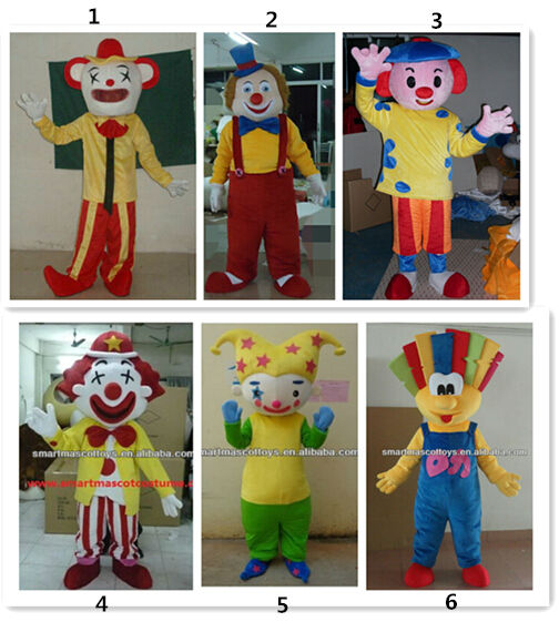 clown mascot costume for adult professional clown costume & Clown Mascot Costume For Adult Professional Clown Costume - Buy ...