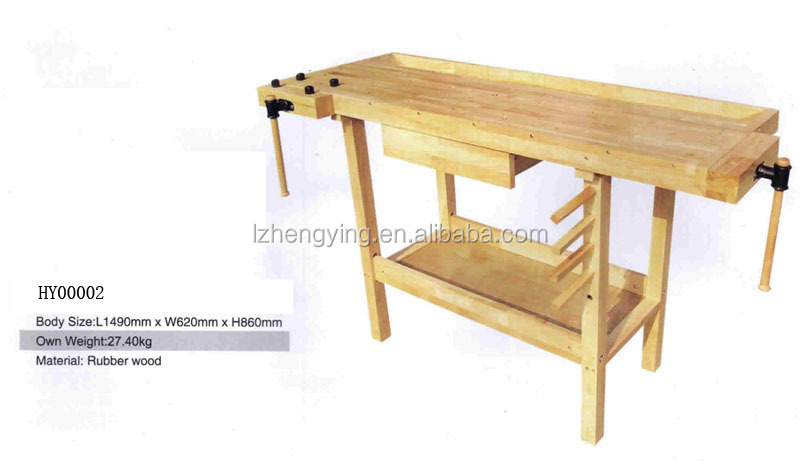 HY00002 Flexible multi-function woodworking carpenter's wood table