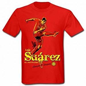 6947ced531b Get Quotations · Luis Suarez Liverpool   Uruguay T-Shirt