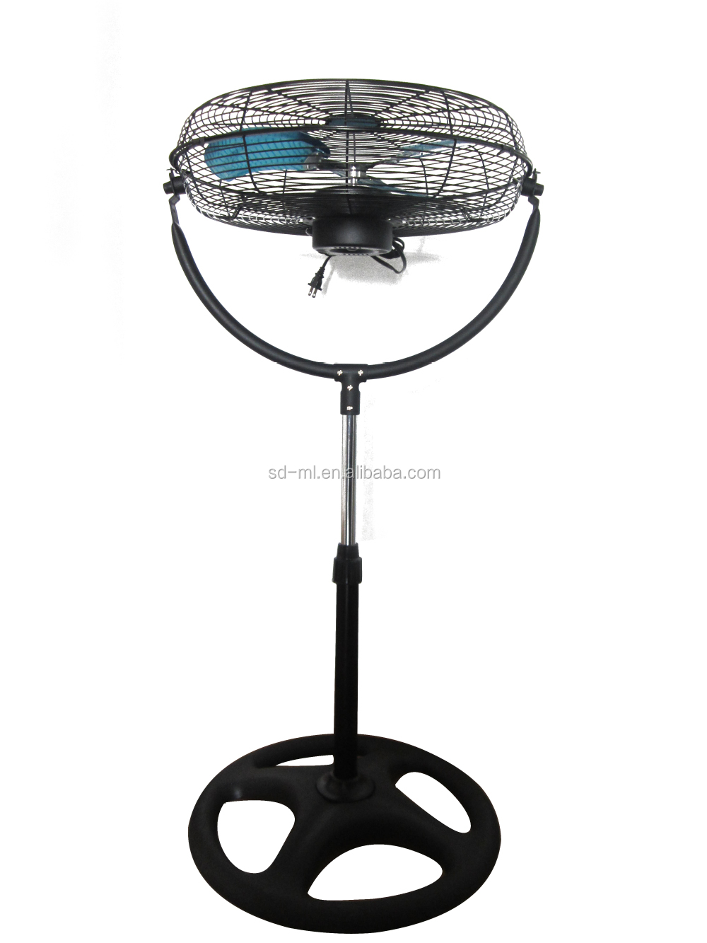 "18"" stand fan industrial u shape fan to maxico"