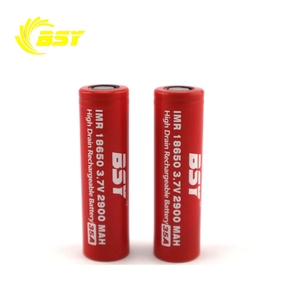Best price 18650 li-ion battery bsy IMR18650 2900mah 35A discharge 18650 3.7v battery