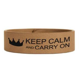 Inspired Quotes Sayings Laserable Laser Cut Colored Wide Faux Leather Cuff Bracelet For Women Bracelets