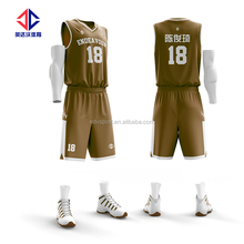 Fully Sublimation throwback basketball jerseys