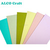A6 size textured cardstock color core paper dye for craft