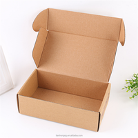 Custom Printed Recycle Paper Packaging Cardboard Corrugated Carton Box