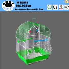 Wholesale double cover stainless steel bird cages.