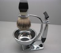 shaving brush set for business gift