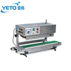 Factory price of automatic vertical plastic bag sealing machine , continuous film pouch sealer