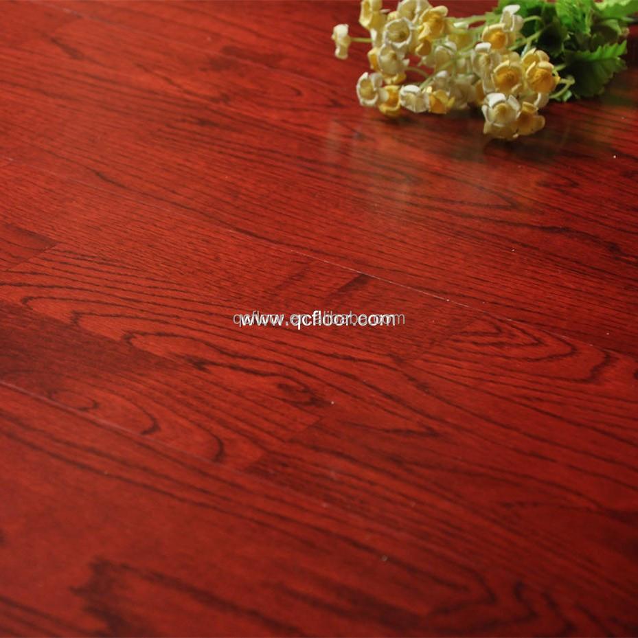 3-laags 3- strip rood gebeitst eiken vloeren eiken parket tegels ...