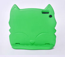 cute cat kids shockproof foam case handle cover stand for ipad mini