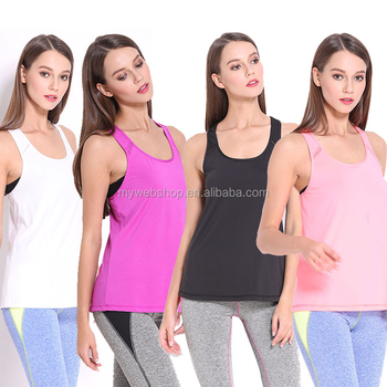 Sports and Fitness Tank Top Quick Dry Breathable Yoga Vest Sexy Beauty Back Camilose