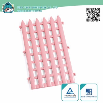 new premium quality solid Plastic Fence for Small Animals pet safety gate