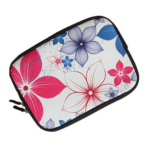Custom floral design waterproof laptop bag for ladies made in china