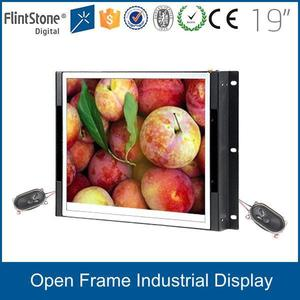 FlintStone 19 inch super thin full HD colored frameless LED LCD digital signage monitor for computer connection