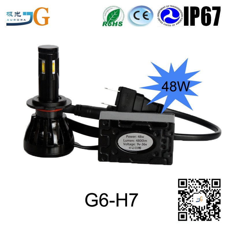 Guangzhou Auto Parts Motorcycle Led Lights 4800LM 48W Suzuki Alto Headlight
