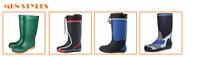 Wholesale yellow women rubber rain boots, rubber latex boots ...