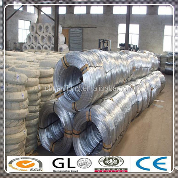 Electro /h.d.g Galvanized Steel Wire For Baling /cable Armoring