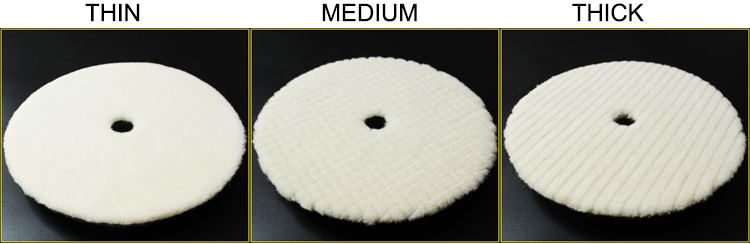 China supply durable Ecofriendly wool felt glass polishing pad