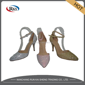 2017 new style women bridal dress shoes