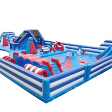 De grootste Pretpark opblaasbare uitsmijter, combo play <span class=keywords><strong>zone</strong></span>, enorme opblaasbare fun city hot selling