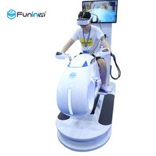 FuninVR Elektrische Systeem 9D VR Motor Racing Machine VR <span class=keywords><strong>Simulator</strong></span> Racing voor plezier