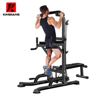 Power rack multi gym j hooks cage