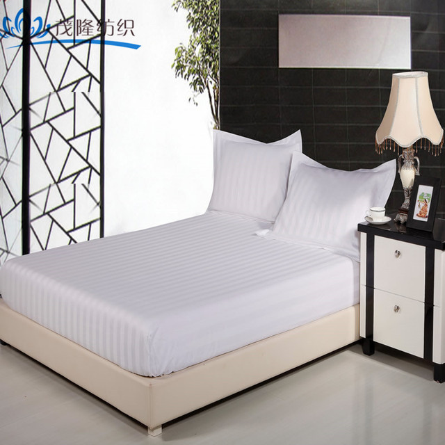 Cheap Single/double/queen/king Fitted Knitted Bed Sheet