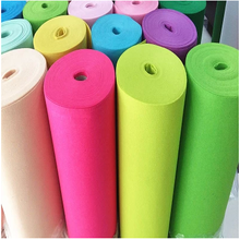 process of chemical fiber polyester felt multipurpose color wool fiber felt cloth