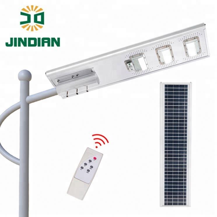 Jindian New model led solar street light price 150w led solar street light