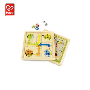Hape Educational Toys Wooden Board Game,Ludo Board Game For Kids