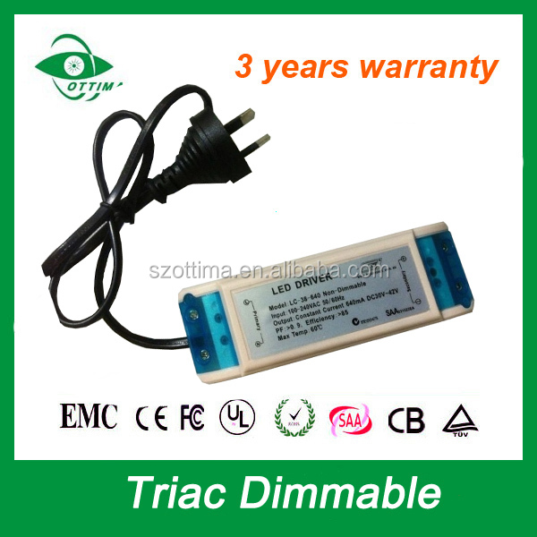 led driver 700ma constant current dimming switching power supply 20w for led down light