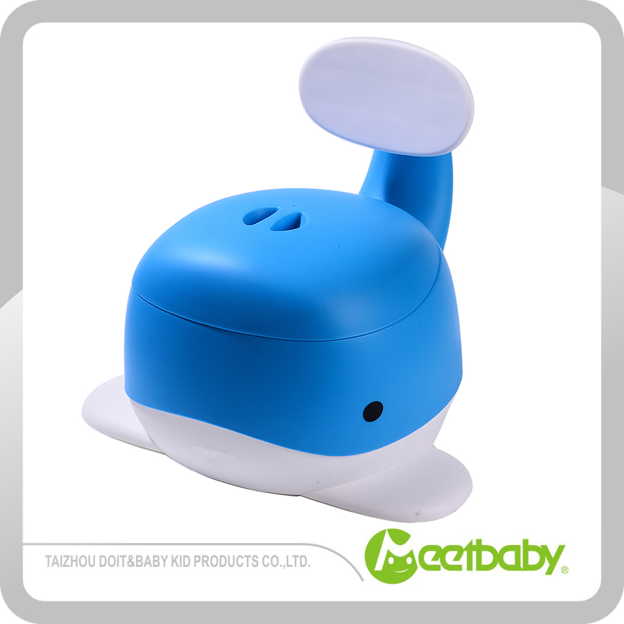 Best Potty For Baby Toilet Training convenient handle baby urinal pot lovely whale plastic baby potty