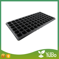 72 cells plastic flower pot trays rectangular for garden
