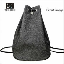 School backpacks used canvas drawstring kangaroo backpacks