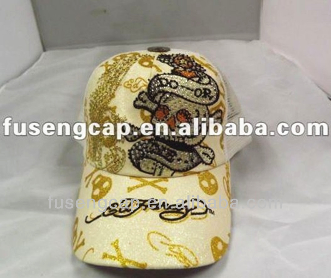 Unisex Baseball Caps of Various Colors ed hardy