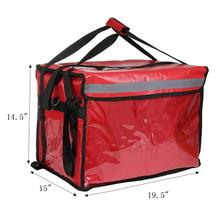 Insulated Commercial Food Delivery Bag - Professional Series Hot/Cold Thermal Carrier - Large, Lightweight and Portable for Cate