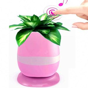 Wireless Speaker Intelligent With Led Sing Wireless Speaker Flower Pot Light