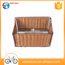 cheap wholesale bicycles for sale Plastic bicycle bike basket/large strong bicycle basket