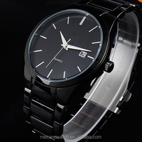 New Fashion Round different color dial Bracelet Quartz Stainless Steel Watches for men