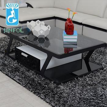 Modern Design Glass Living Room New Center Table CJ203E Part 37