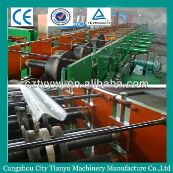 roll bead chain c z shape purlin forming machine