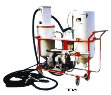 Vacuumblasting machines