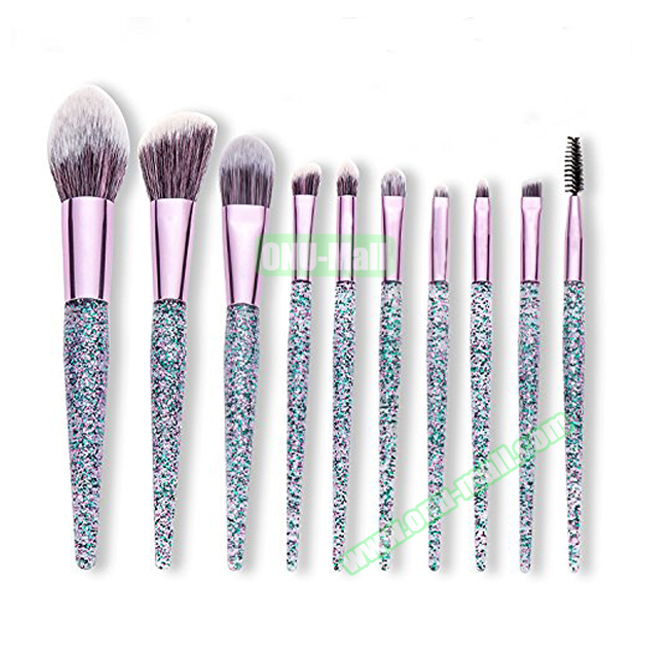 Amazon HEIßER Make-Up Pinsel Private Label Glitter Make-Up Pinsel Set