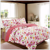 Shanghai honour china supplier patchwork quilt bedroom sets