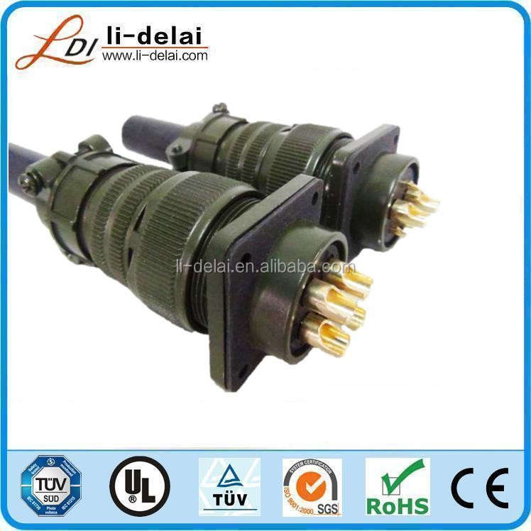 5015 with CE ROHS certification 24pin 26pin 35pin 37pin MS5105 amphenol connector waterproof connector