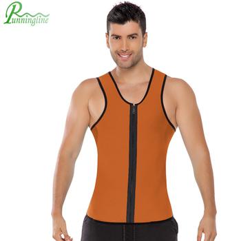 839d83d5429 Men s Ultra Sweat Vest Enhancing Thermal Neoprene Hot Shaper Fitness waist  shaper