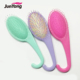 Plastic goody shower brush for wet/dry hair