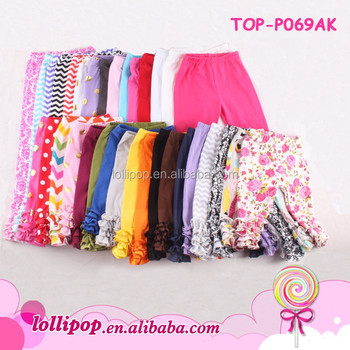 e4c7299a2da1fc Top 100 baby girl names images kids clothes boutique multicolor leggings  triple ruffle pant cotton icing