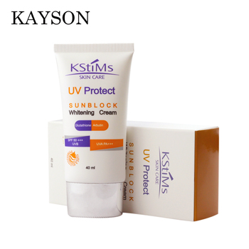 Private Label Sunscreen Manufacturer USA Sunblock Whitening Sun Screen Lotion Cream for Oily Skin