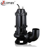 20m3/h sewage submersible cutting impeller water pump for waste water price